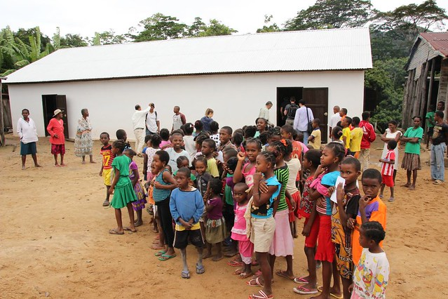 Schule im Vanille-Dorf