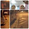Our Tarawikh. Comel je 2 cousins tu berjalan kaki ke Masjid Solatiah.