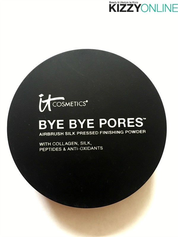 it Cosmetics Bye Bye Pores Pressed Airbrush Silk Pressed Anti-Aging Finishing Powder review