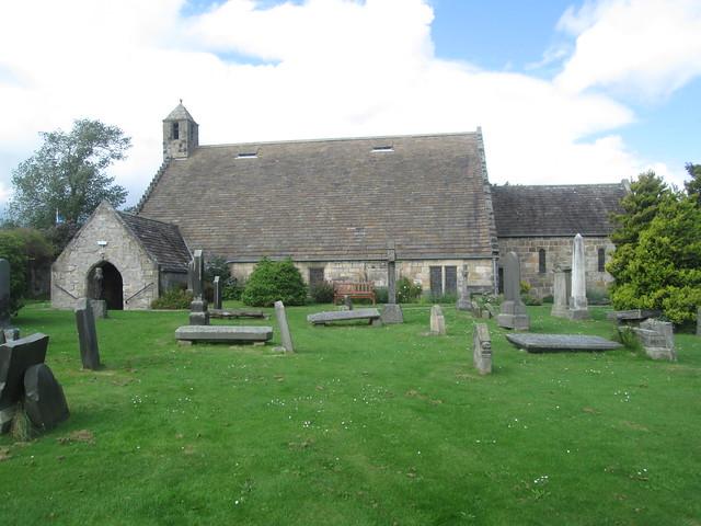 St  Fillan's kirk exterior