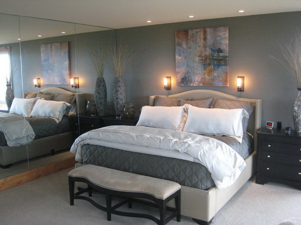 Traditional Master Bedroom Design Ideas Ideas With Wall Sconces Decor