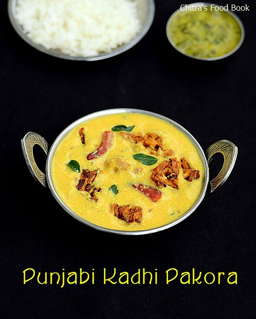 Punjabi kadhi pakora recipe how to make kadhi recipe chitras punjabi dahi kadhi with pakora recipe i have tried it once when i made punjabi thali and that was very long backcently i watched this authentic punjabi forumfinder Image collections