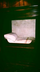 Rembrandt's kitchen bed