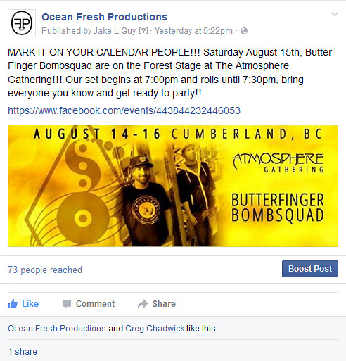 Butterfinger Bombsquad Aug 14th!