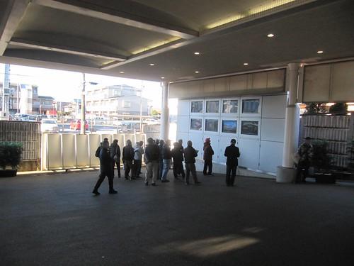船橋法典駅の中山競馬場専用改札口