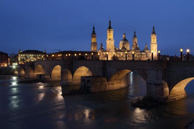 Pilar, Ebro y Puente de Piedra