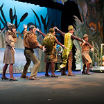 A Year With Frog and Toad - Arvada Center 2017 - Lindsay Weidig, Carter Smith, Maggie Tisdale, Ben Griffin and Melissa Morris (left to right) M. Gale Photography 2017