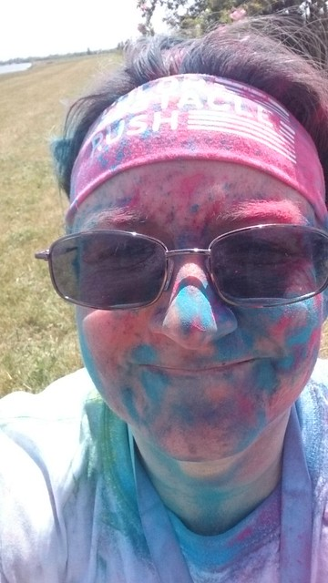 Dorney Colour Run