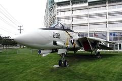 160382 AJ-202  F-14A TOMCAT GRUMMAN BFI AIRPORT MUSEUM OF FLIGHT