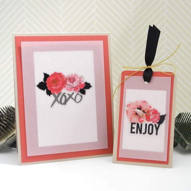 XOXO Enjoy Card/Tag Set