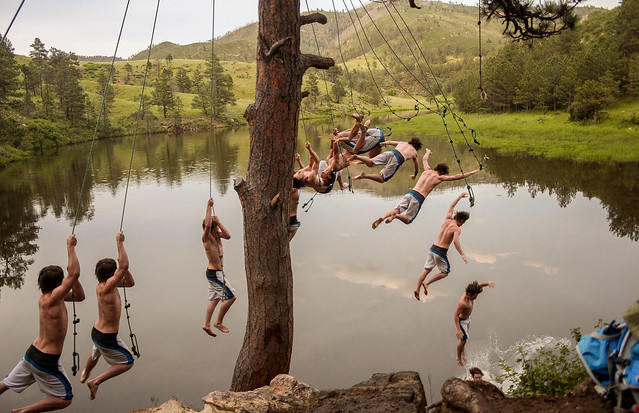 Rope Swing, Canon EOS REBEL T5I, Canon EF-S 18-55mm f/3.5-5.6 USM