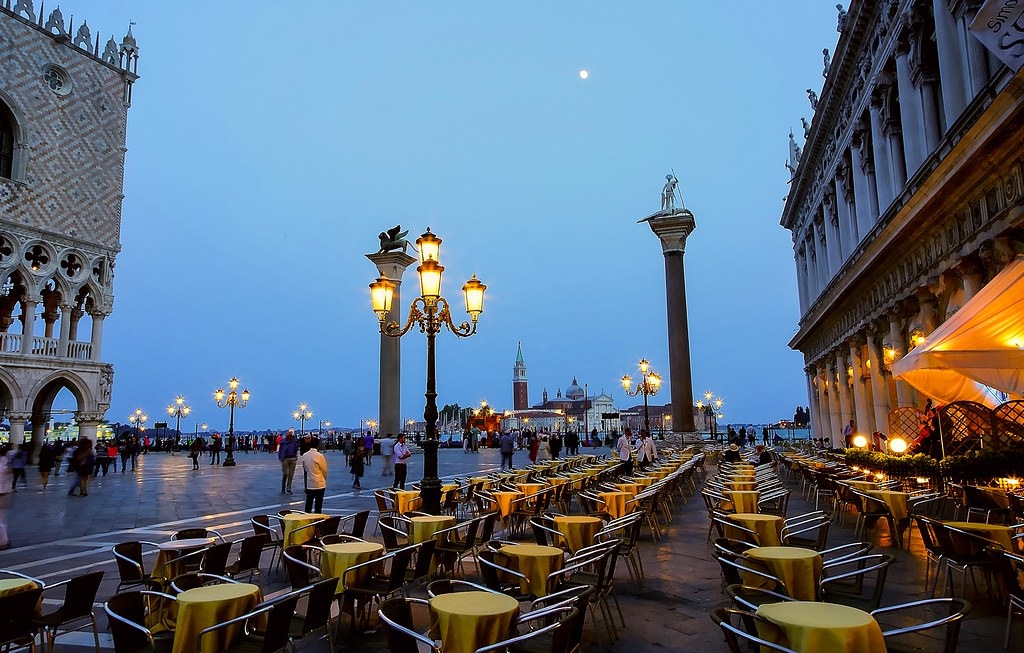 Café on Piazza San Marco in Venice