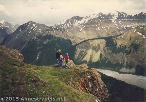 Parker Ridge in Banff National Park, 1995