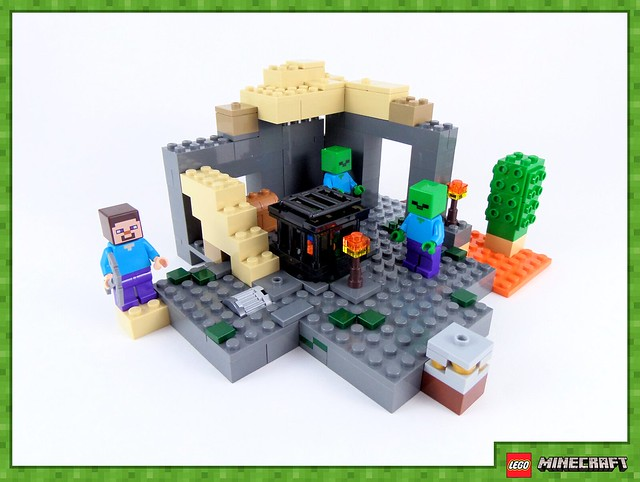 Review - 21119 LEGO Minecraft The Dungeon από EUROBRICKS 19267955904_c2f1a77fef_z
