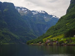 The Depths of the Naerøyfjord