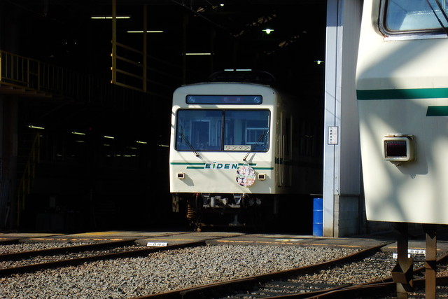 2015/07 叡山電車×わかば*ガール ヘッドマーク車両 #01