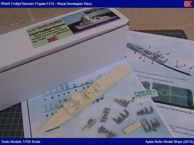 Frégate HNoMS Fridtjof Nansen F310, Dodo Models 1/700 19361884059_9b138d2b7c_o