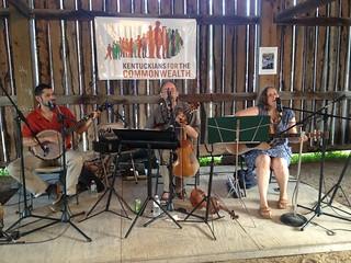 The Jarflies at the Barn Bash