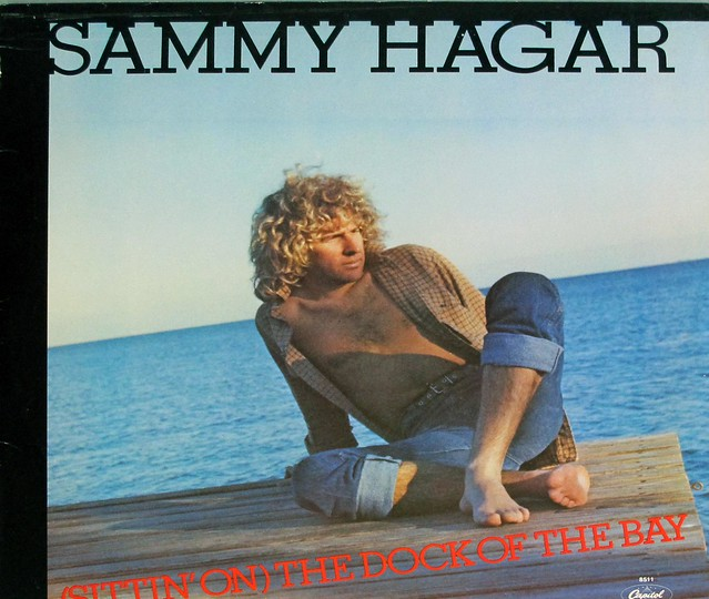 "SAMMY HAGAR SITTIN ON THE DOCK OF THE BAY ORIG USA 12"" MAXI-SINGLE VINYL"