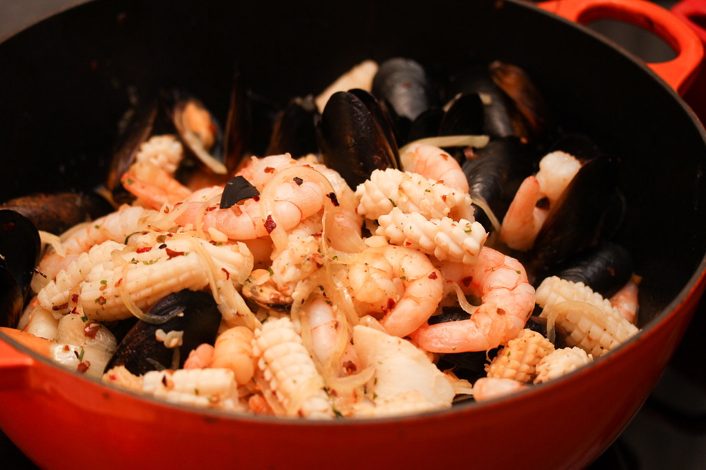 The Carvery: Seafood Bouillabaisse Marinara