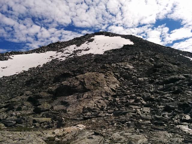 Aufstieg Dreieckspitze