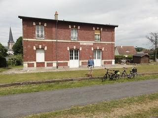 Leon at old Station l'Avenue Verte