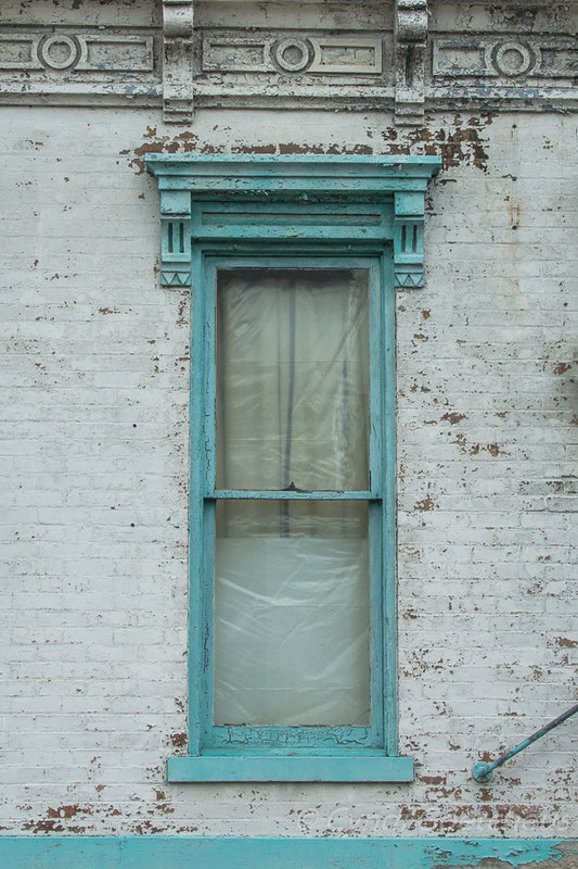 wabi sabi blue window in blue