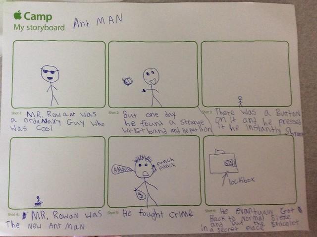 Rowan storyboard