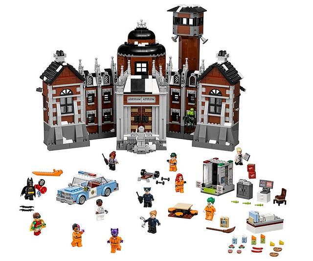 70912 Arkham Asylum Set