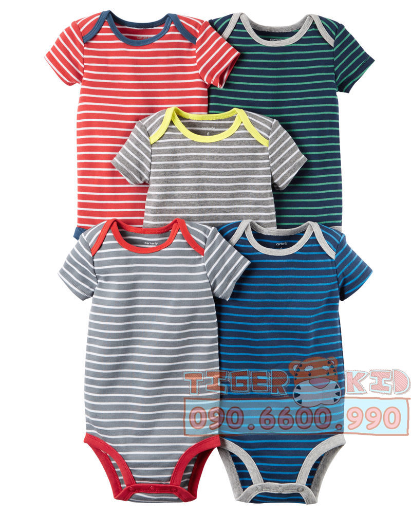 32036190136 b19fdab536 o Set 5 bodysuit Carters nhập Mỹ chính hãng