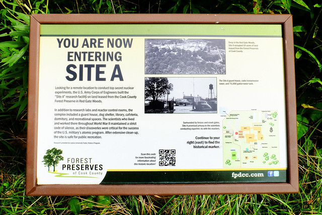 Entering Site A
