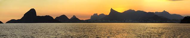 Sunset Rio de Janeiro - Aquele Abraço