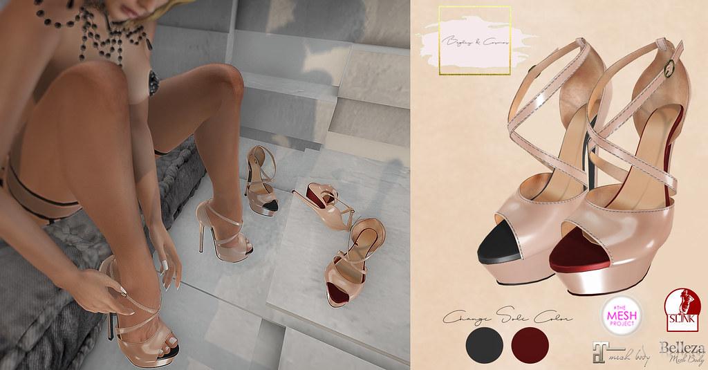 B&C Heels Alena - SecondLifeHub.com