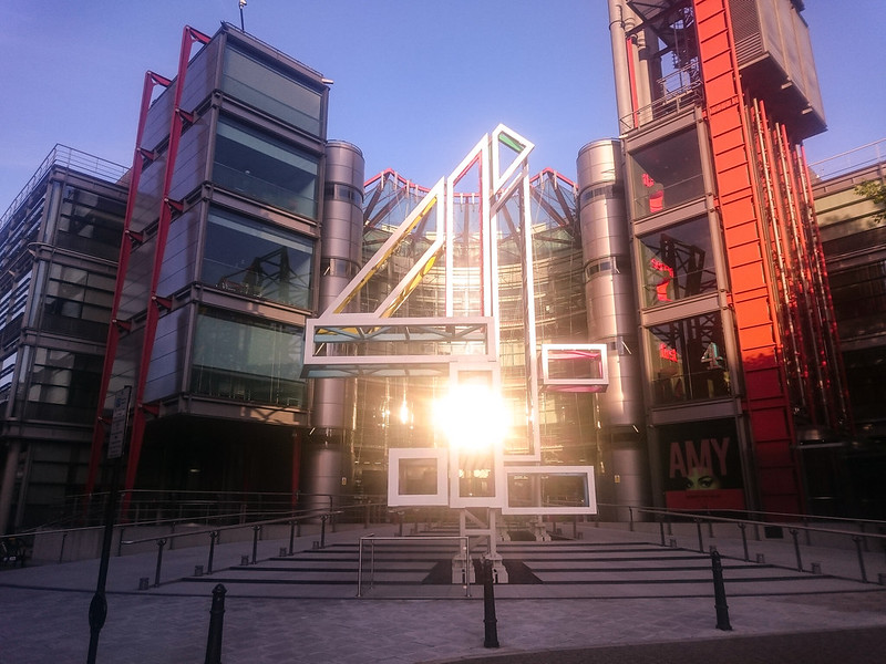 Channel 4 Television Headquarters London