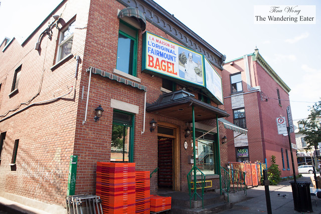 Legendary bagel institution - Fairmount