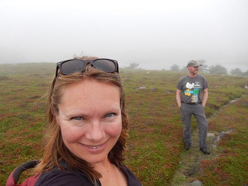 Port Bickerton - hike in de mist