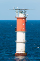 sea, ocean, lighthouse, channel, tower,