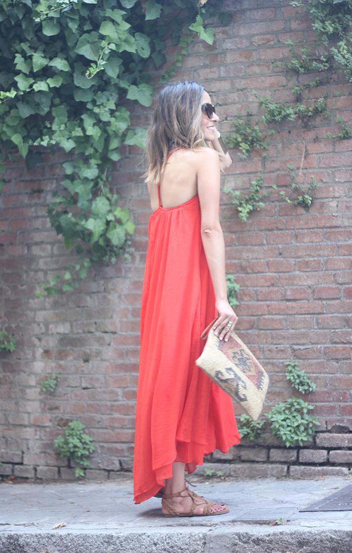 Red Maxi Dress14