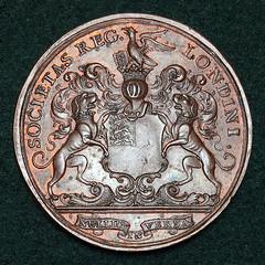 Copley medal reverse