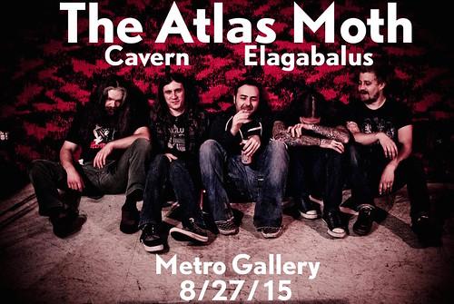 The Atlas Moth at Metro Gallery