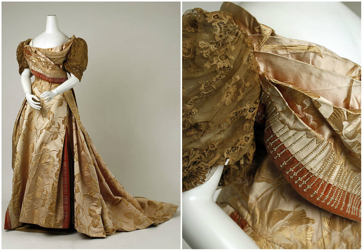 1889. Evening Dress. metmuseum