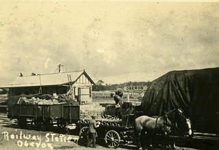 Railway Station, Oberon