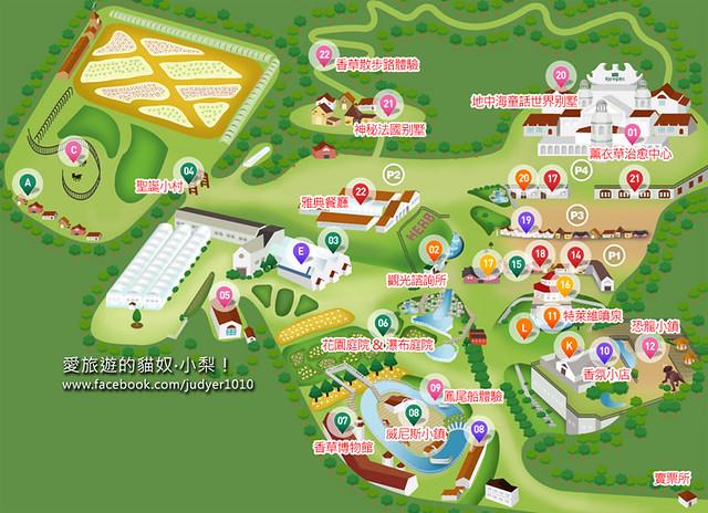 香草島樂園地圖