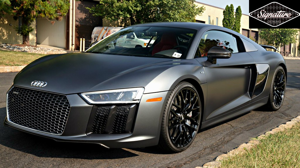 Xpel Stealth Paint Protection Film - SignatureDetailing.com of New Jersey - Audi R8 Greg Gellas