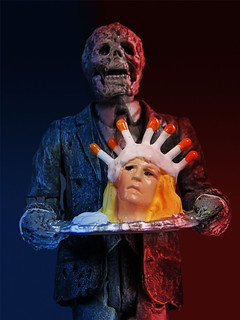 經典的邪典電影再度復活!『鬼作秀』:第一話『父親節』復古3.75 吋人偶 Monstarz Creepshow 3.75-Inch Scale Retro Action Figure