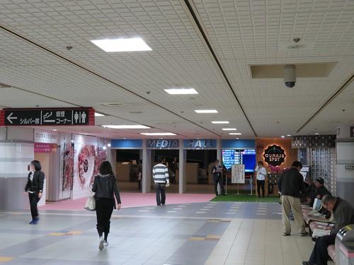 中山競馬場のメディアホール