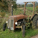Tractor at Lowdown Farm