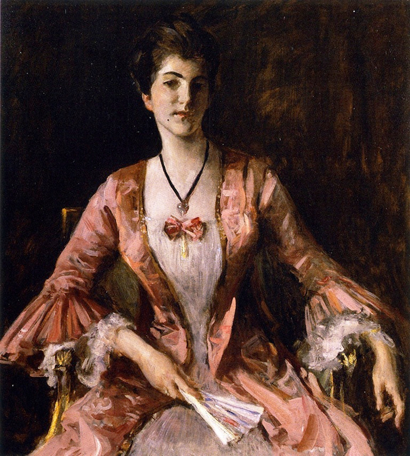 Portrait of Miss Dorothy Chase by William Merritt Chase, c.1913
