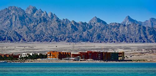 wernerboehm desert berge hotel redsea rotesmeer