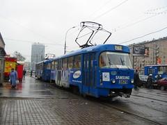 Moscow tram Tatra T3SU 3579